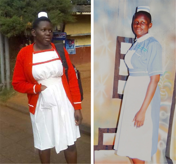 Ugandan girls with the opportunity for education