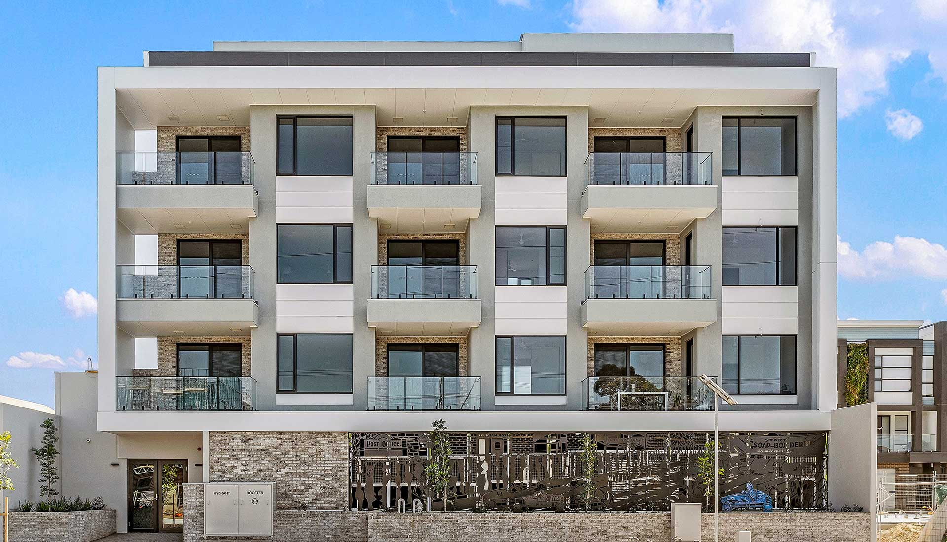 Easom Apartments Prospect Front facade